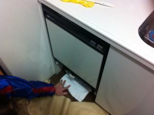 既設の食洗機